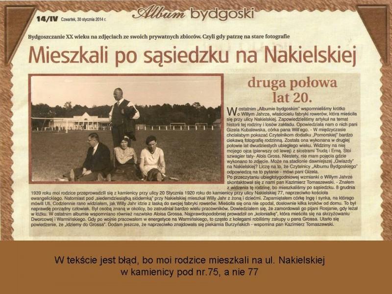 Album Bydgoski z dn.30.01.2014 r.