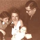 Rodzice z Ingą i Ulim 1939r