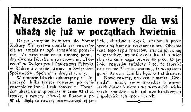 gromada artykuł z 1939 roku