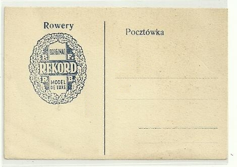 rekord pocztówka