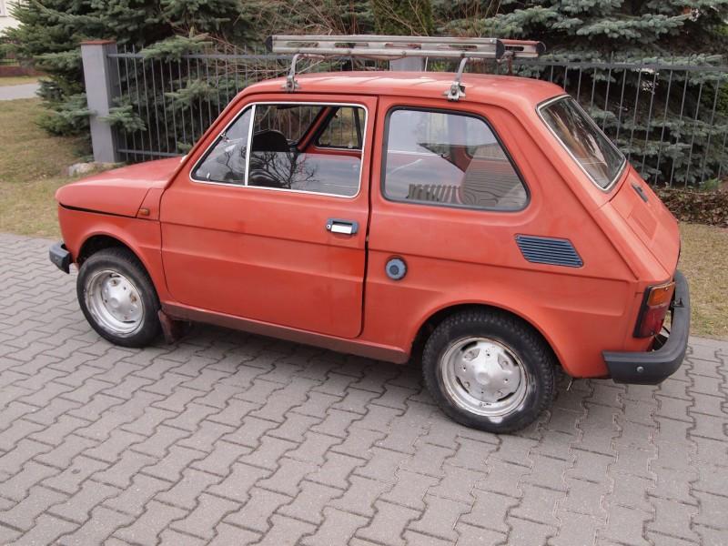 Polski Fiat 126 Jędrzeja